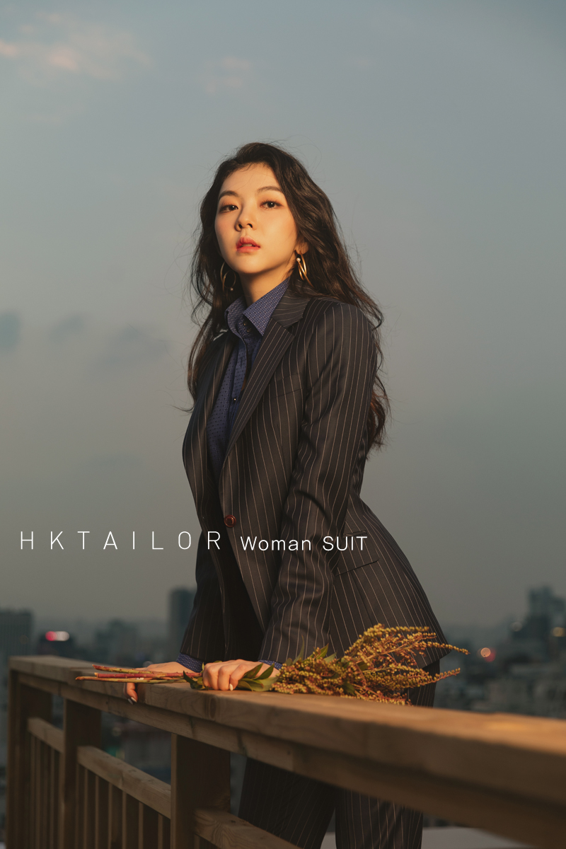 HKtailor Woman - SUIT  [Stripe]